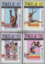 Tokelau 184-187 (complete issue) unmounted mint / never hinged 1992 Olympics Sum