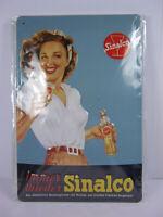 Blechschild Sinalco getränke  ,30 cm !!,NEU,metal shield
