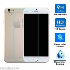 100% GENUINE TEMPERED GLASS SCREEN PROTECTOR COVER FOR APPLE IPHONE 6 PLUS 5.5""