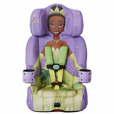 KidsEmbrace 2 in 1 Convertible Forward Facing Car Seat, Disney Princess Tiana
