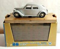 BRUMM 1:43 SCALE 1936-48 LANCIA APRILIA BERLINA 47HP - SILVER - R58 - BOXED