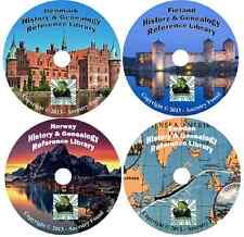 95 old books SCANDINAVIA Scandinavian History & Genealogy Family Tree