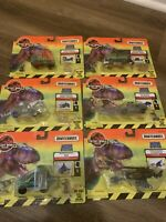 Matchbox The Lost World Jurassic Park 6 Piece Lot - Action System Rare - New