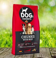 Dog´s Favorite Chunks mit Rind 15 kg - Marke v. Happy Dog