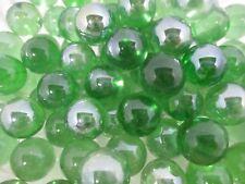 "Marble Bulk Lot 4 Lbs Of 5/8"" Green Glass Marbles - Vase Filler - Crafts"