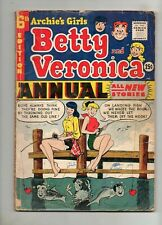 Archie's Girls Betty and Veronica Annual #6 1958! 1 VG 4.0 Solid / Complete