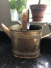 Brass Watering Can Ornament Display Garden