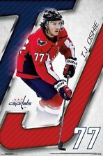 T.J. Oshie RED WHITE AND BLUE  18 Washington Capitals Official NHL Action  POSTER f9c13fafd