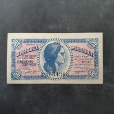 RARA SERIE C. 50 céntimos 1937. SC