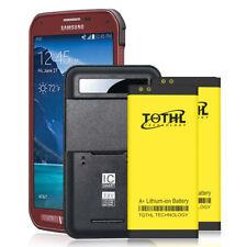 2Pcs 3200mAh Extra Battery + Charger F Samsung Galaxy S5 Sport Sm-G860 (Sprint)