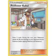 POKEMON Professor Kukui Card 128/149 Uncommon NM/M SM Sun and Moon FREE SHIPPING