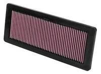 K&N Air Filter Element 33-2936 (Performance Replacement Panel Air Filter)