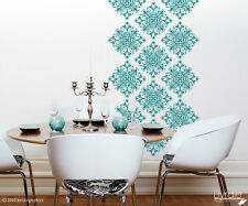 Scroll Damask Vinyl Wall Decals (18 Pack)