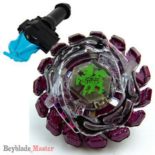 Fusion METAL Beyblade Masters BB-86 Super P Giraffe+BLUE STRING LAUNCHER+GRIP