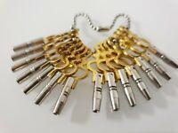 14 Stück Uhrenschlüssel, Taschenuhren Schlüssel  für Taschenuhr Set P- Watch key