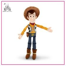 "AUTHENTIC DISNEY TOY STORY COWBOY SHERIFF WOODY MINI 12"" PLUSH DOLL TOY BNWT"