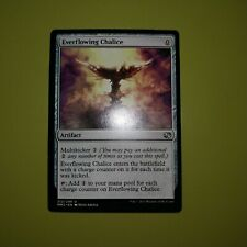 *MRM* FRENCH 4x Everflowing Chalice Calice toujours ruisselant MTG WWK
