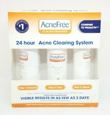 AcneFree 24 Hour Acne Clearing System 1 kit (Pack of 3) EXP 02/2019