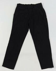 ATHLETA Size 10 Black Lightweight Paperbag Waist Ripstop Trekkie Hiking Pants