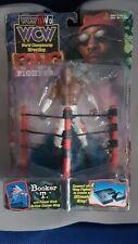 Booker T WCW NWO Ring Fighters Wrestling Figures Toybiz  Rare