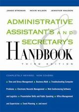 Administrative Assistant's and Secretary's Handbook by Stroman, James, Wilson,