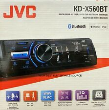 NEW JVC KD-X560BT Digital Media Car Stereo Receiver Single DIN, Bluetooth