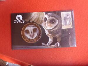 SOOTY OWL LTD EDITON AUST MEDALLION COVER #1210 OF 3000