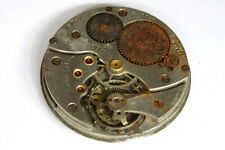 Cyma 15 jewels Swiss pocket watch movement for parts/restore - 137984