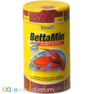 Tetra BettaMin Select-A-Food 1.34 oz FAST FREE USA SHIPPING
