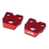 Billet Brake Line Hose Clamp For CRM250R CRM250AR XR250 Baja Motard XR400 Red
