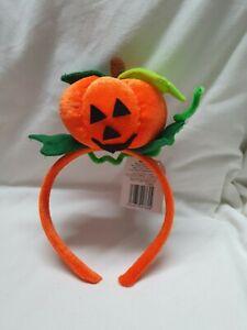 BNWT Halloween Pumpkin Head Band