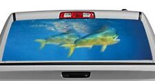 Truck Rear Window Decal Graphic [Sporting Life / Mahi Mahi] 20x65in DC31906