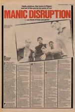 Flipper Interview NME Cutting 1982