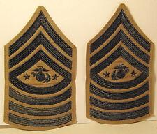 USMC US Marine Corps Male Sergeant Major of the Marine Corps Stripes Khaki Pair