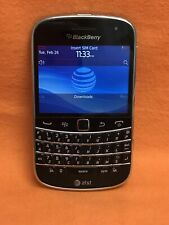 AT&T, BLACKBERRY 9900 BOLD QWERTY SMARTPHONE 8GB BLACK SCORCHING