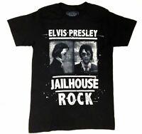 "Elvis Presley MUGSHOT JAILHOUSE ROCK T-Shirt NWT ""Official Elvis Product"""