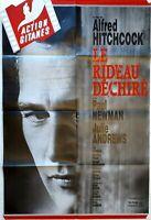 Plakat Kino Le Gardine Hin und Her Gerissen Alfred Hitchcock Paul Newman -