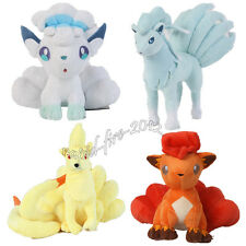 4pcs Pokemon Alola Ninetales Alola Vulpix Plush Doll Toy Figure Gift US Ship