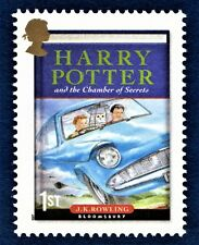 Harry Potter and the Chamber of Secret's Illustrated on Stamp Unmounted Mint
