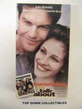 Something To Talk About,  Julia Roberts, Robert Duvall , Dennis Quaid VHS Movie