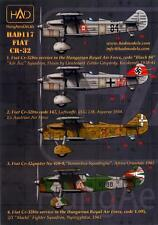 Hungarian Aero Decals 1/48 FIAT CR-32 Italian WWII Fighter