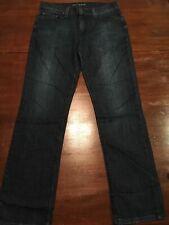 Mens Mott & Bow Straight Leg Jeans Mosco 9 Month Wash