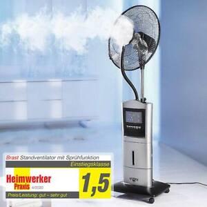 Ventilator mit Sprühnebel Anti-Mücken-Funktion Standventilator Luftbefeuchter