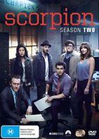 SCORPION SEASON 2 Two Second DVD NEW Region 4