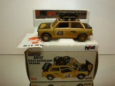 POLISTIL 1:25 S16 - FIAT 128 EAST AFRICAN SAFARI  - GOOD CONDITION IN BOX -