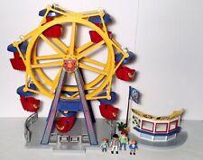 Playmobil 5552 Summer Fun Ferris Wheel Carnival w/ Lights Amusement Park City