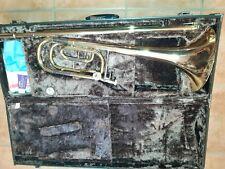 Yamaha YBL 421 G Bassposaune B/F Top Zustand Posaune mit Koffer und Mundstück