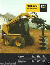 Equipment Brochure - Caterpillar - 216B 226B - Skid Steer Loader 2006 (E3151)