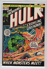 Incredible Hulk Issue #151 Marvel Comics (May 1972) VF