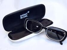 SUPERB - Rare MONTBLANC 325 Black White Retro Inspired Ladies SUNGLASSES